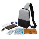 Oxford Bolsa en el pecho de los hombres Messenger Bag solo eslinga Daypack multiuso bolsas de hombro Bolsas Crossbody informal para hombres