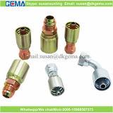 Montaggi di piegatura adatti idraulici di un pezzo del puntale del tubo flessibile dell'accessorio per tubi di compressione