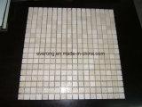 Mosaico di marmo bianco di Bianco Carrara per la cucina Backsplash & la stanza da bagno