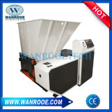 Un seul arbre de film plastique Shredder Machine avec système de refroidissement par eau