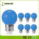 De uiterst kleine G14 Kleine LEIDENE van Bulb1.5W E27 Blauwe Gloeilamp van de Bol voor Decoratief