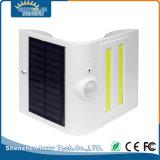 0-8m de distancia de detección del Jardín de Luz LED lámpara solar de la calle