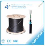 Cable óptico de fibra de 6 bases con acorazado subterráneo antirroedores