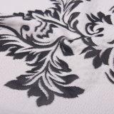 Doppio tessuto di lavoro a maglia del materasso di Jacuqard con alto Quilty