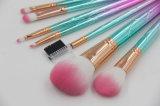 Цветастый пластичный комплект щетки состава ручки