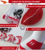 Calcetines elásticos al por mayor del deporte del baloncesto con alta calidad