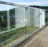 Pasamano de cristal de la abrazadera del canal U de aluminio con alta calidad