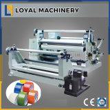 1600 mm auto adhesivo automático de la línea de corte longitudinal la máquina rebobinadora cortadora longitudinal