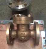 B62 C95800 kupfernes Bronzeoblate-Drosselventil mit Hebel