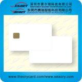 D'or/argent/carte blanche d'identification de PVC de plastique d'impression
