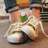 Massenkauf China-Mädchen-Gummisohle-von den bequemen Segeltuch-Frauen-Schuhen