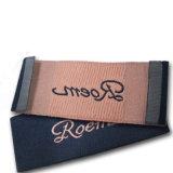 Damasco etiqueta tejida para prenda/ Prendas de vestir con el extremo Badge
