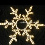 La decorazione commerciale di natale di illuminazione 40cm LED illumina il fiocco di neve