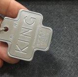 ギフト(xd-031727)のためのより安いアルミニウム金属のキーホルダー