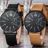 Logo personnalisé Men's montre à quartz Fashion montre-bracelet pour l'homme (WY-17012C)