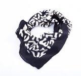 Weicher Silk Gefühls-Sprung-Quadratmit blumenbandana für Frauen (LQ-PL-1004)