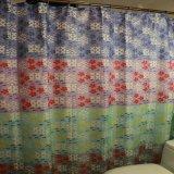 Nuovo tenda del bagno stampata tessuto su ordinazione di disegno con la muffa liberamente