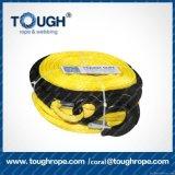 UHMWPE feito-à-medida linha material do reboque corda puxando Offroad dos guinchos
