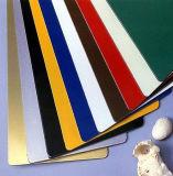 PE die van 4mm het Marmeren Blad van ACS Acm van het Aluminium van de Kleur Plastic Samengestelde met een laag bedekken