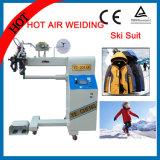Máquina del lacre de la costura del aire caliente para las tiendas impermeables