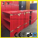 рамка Shoring 4 ' x4 в красном покрытии порошка