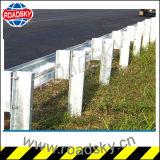 La construction de routes barrière de sécurité recouvertes de Zinc Guard balustrade Post