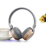 Auscultadores de dobramento estereofónico sem fio de rádio Home de Bluetooth com bateria recarregável