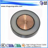 Низкое напряжение и ПВХ изоляцией и пламенно/Al проводник/стальная проволока Armord/кабель питания