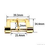 핸드백 (Yk1340 1367년)가 의복을%s 최신 판매 금속 아연 합금 하네스 버클 Pin 벨트 죔쇠에 의하여 구두를 신긴다