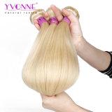 Yvonne 페루 Virgin 사람의 모발 직물 색깔 613# 자연적인 똑바른