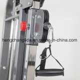 Máquinas de ejercicio de fuerza Trainer doble polea ajustable