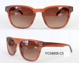 2017 lunettes de soleil bon marché en plastique promotionnelles inférieures en verre de Sun de mode MOQ