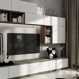 TVのキャビネットが付いている居間の家具の食料貯蔵室PVCキャビネット