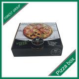 Caisse d'emballage personnalisée de papier de pizza d'impression de logo