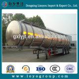 Aluminiumkraftstofftank-Schleppseil-LKW-Schlussteil 48m3
