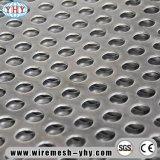 Лист алюминия металла фабрики Perforated
