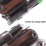 張力、シールおよび断ち切られた自動手持ち型の紐で縛るツール