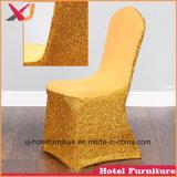 ホテルのための耐久ポリエステルかスパンデックスまたはサテンの椅子カバーかレストランまたは宴会