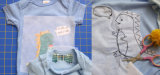 Бумажная Interlining затыловка вышивки с прилипателем без плавкий взаимодействовать вкрапленности