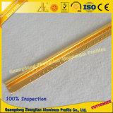 Profilo di alluminio del testo fisso delle mattonelle per la decorazione della costruzione