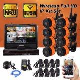無線保安用カメラキット8チャネル720p/960p/1080P IPのカメラ