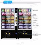 Snacks e bebidas máquina de venda automática de combinação