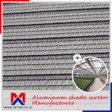 Толщина 1,2 мм алюминиевых шторки климата тени тканью