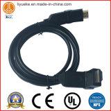 Cable del ordenador del cable de HDMI Cableaudio
