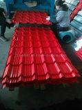 Strato ondulato lustrato del tetto galvanizzato Colourband delle mattonelle