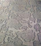 100 % полиэфирная ткань из жаккардовой ткани стиле, Gold штамповки опции окончательной обработки
