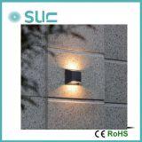 Boa qualidade para 2*6W utilização exterior levou a luz montada na parede