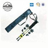 Bastone da passeggio nordico della fibra del carbonio, bastone Trekking piegante, Pali Trekking telescopici
