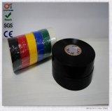 Band van de Isolatie van pvc van de hoogspanning de Zelfklevende Kleurrijke Elektro