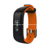 Il video astuto IP67 di frequenza cardiaca di pressione sanguigna di Bluetooth del Wristband impermeabilizza il braccialetto astuto